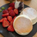 金沢 菓ふぇMURAKAMIへ。老舗和菓子屋のパンケーキは計算が見事でやはりレベルが高かった