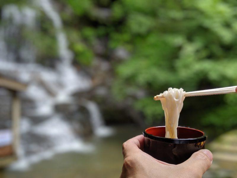 石川県で唯一!大滝のながしそうめんの季節が今年もやってきました。