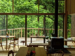 """窓を開ければ川とさえずる鳥の声。ジャズを聴きながらくつろぐ湯涌温泉""""Cafe Lente"""""""