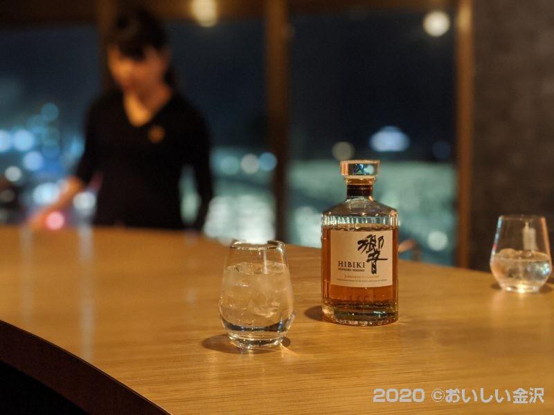 """犀川大橋を眺めながら飲む""""A.COUNTER""""はお値段安くて雰囲気素敵なバーでした!"""