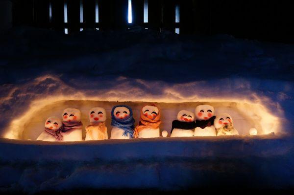 2020年2月8日(土)雪だるま2020(桑島雪だるままつり)