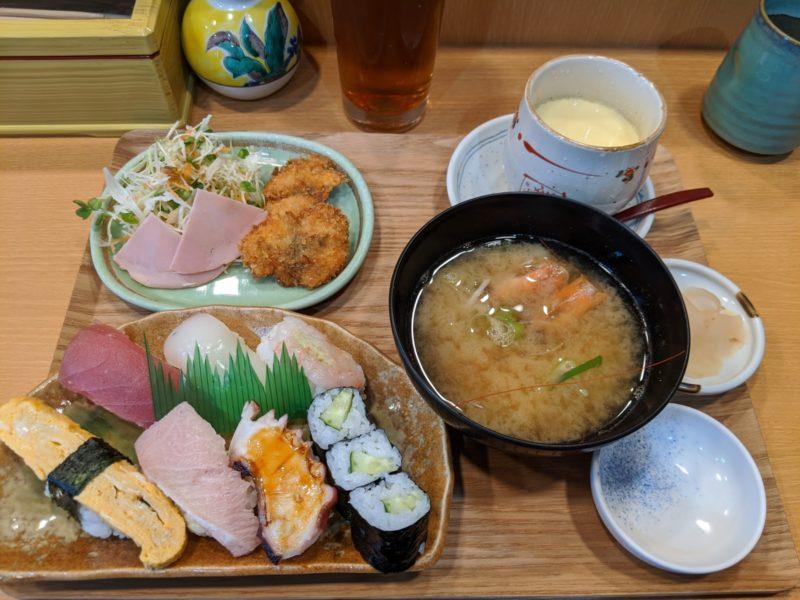 白山ICそばに移転オープンした寿し処 高尾さんはコスパ良し愛想良しのアットホームな寿司店でした